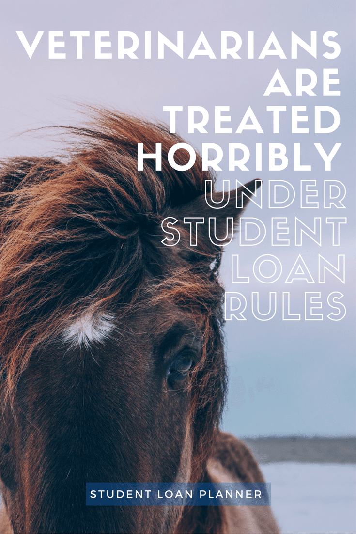 Veterinarians Are Treated Horribly Under Student debt Rules student loan planner