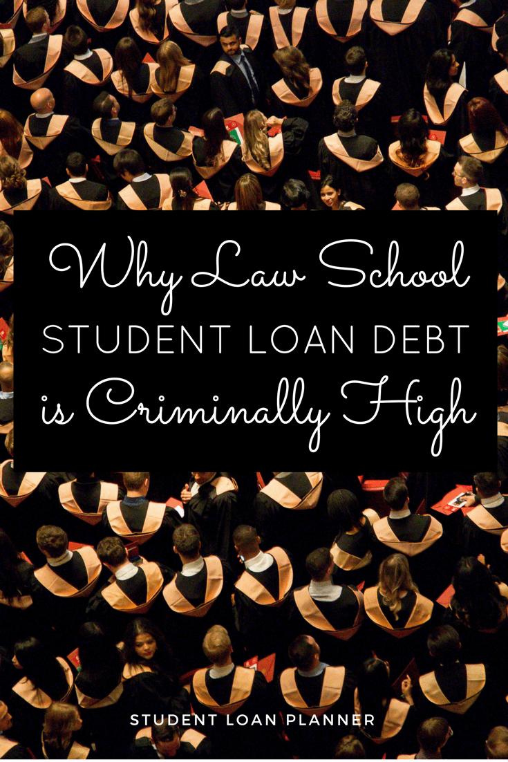 The Verdict is in: Law School Student Debt is Criminally High