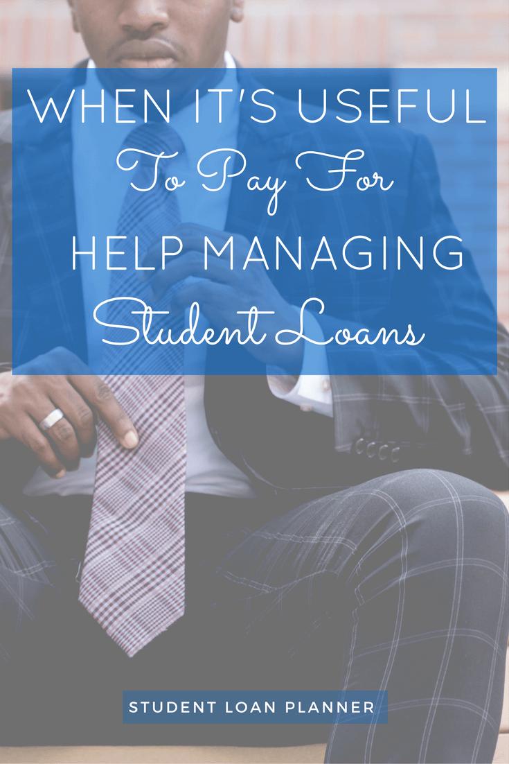help managing student loans