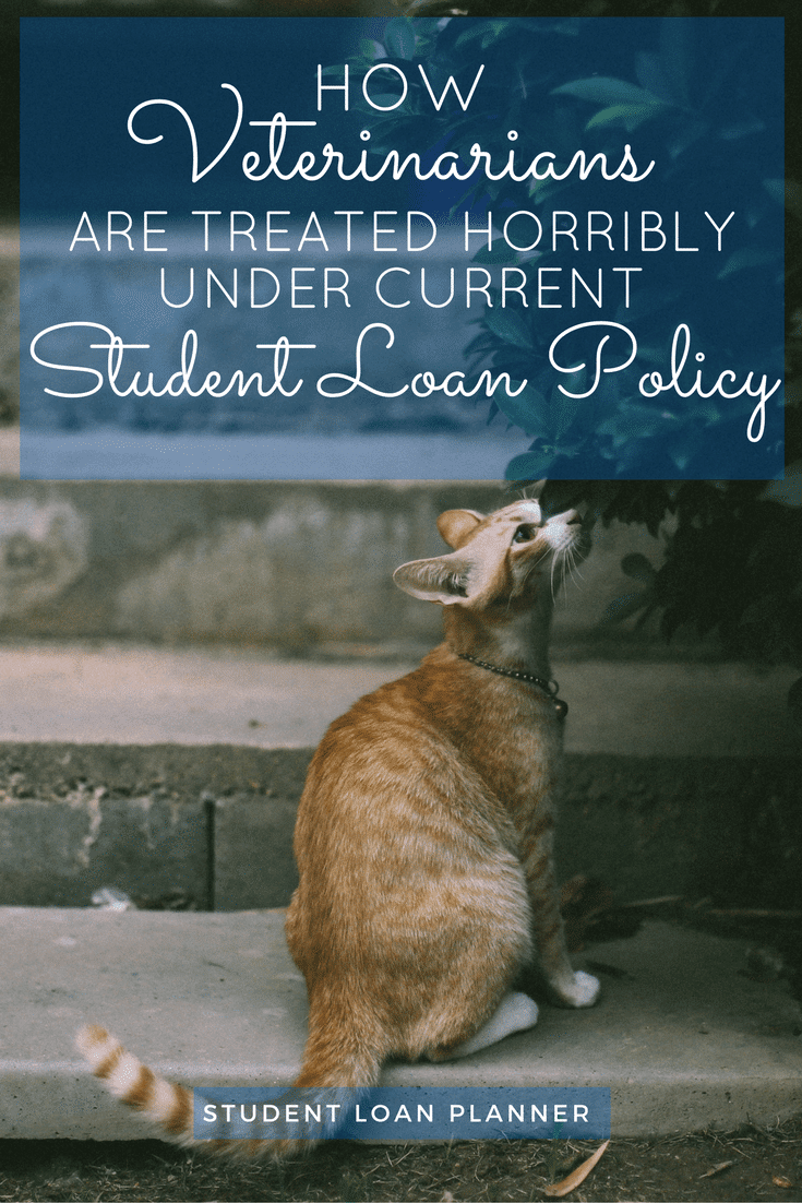 Veterinary student loans are some of the most unfair to borrowers in the entire country