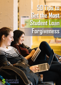 student loan forgiveness tips