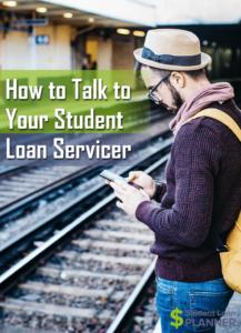 student loan servicer