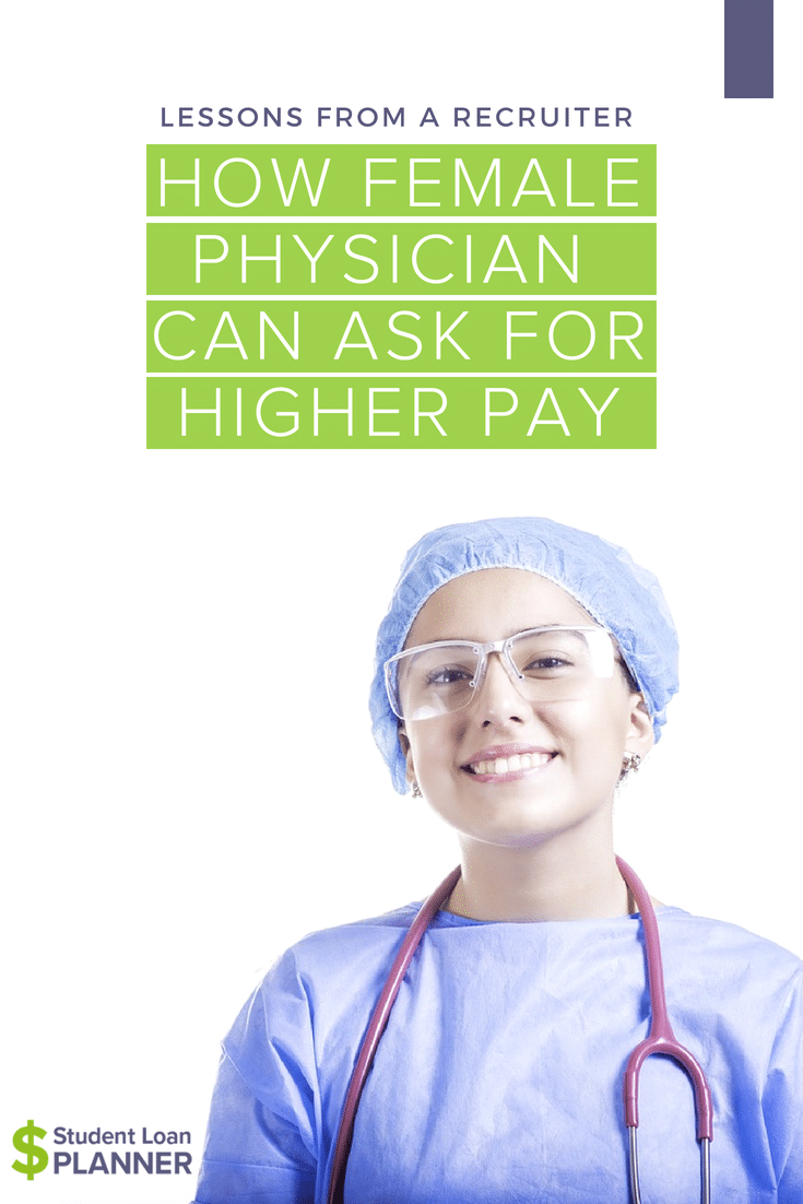 Sadly, there's still lingering sexism toward women in most professional fields.In fact, female #physicians are about 25% less likely to get a raise.Here are some lessons from a recruiter about why and how women should negotiate a raise.