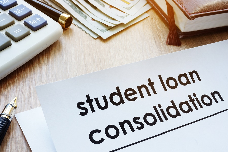 Consolidating parent plus loans and student loans