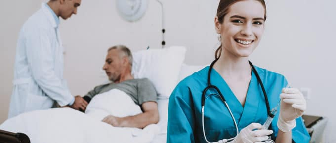 female-nurse-smiling-doctor-patient