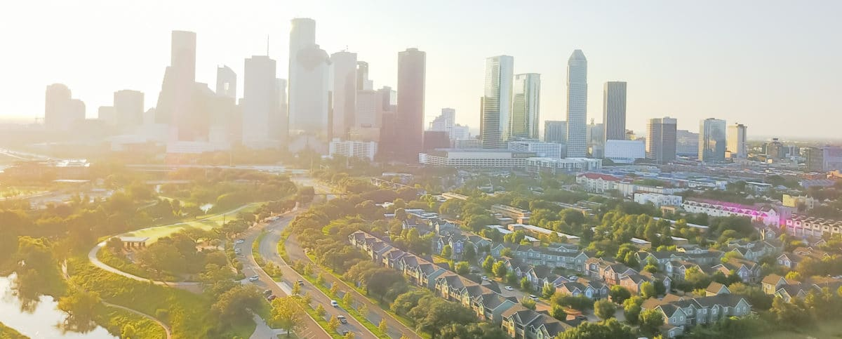 downtown-houston-texas-aerial-view